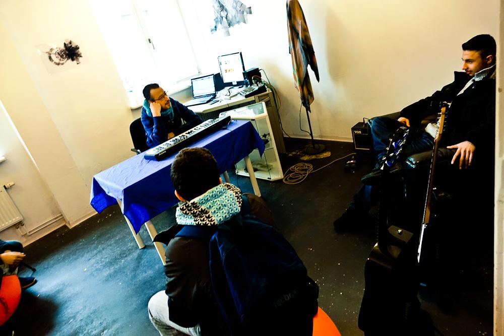Enkidu & 65er im Studio Shiro