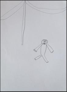 KInderzeichnung Affe