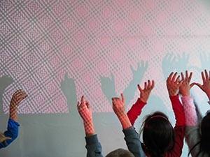 Kinderhände Schatten