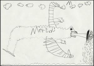 Drache Mertali