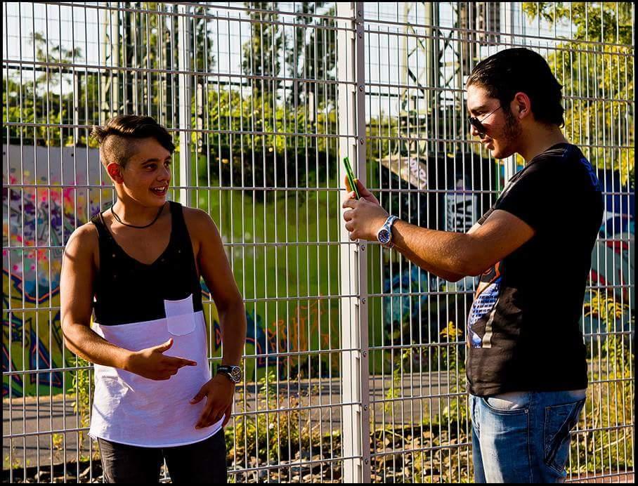 Huseyin & AnTo beim Dreh unseres nächsten Clips
